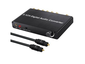 Konwerter 5.1 Surround do nc+ SPDIF Toslink AC-3 DTS PCM 192kHz