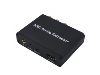 DAC konwerter ARC z HDMI do Coaxial Toslink analog