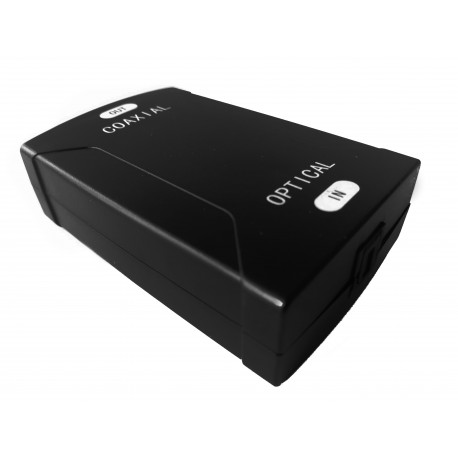 Konwerter cyfrowy Toslink → Coaxial +USB