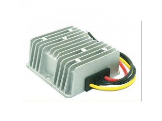 Przetwornica step up 12V do 24V 10A szczelna z radiatorem