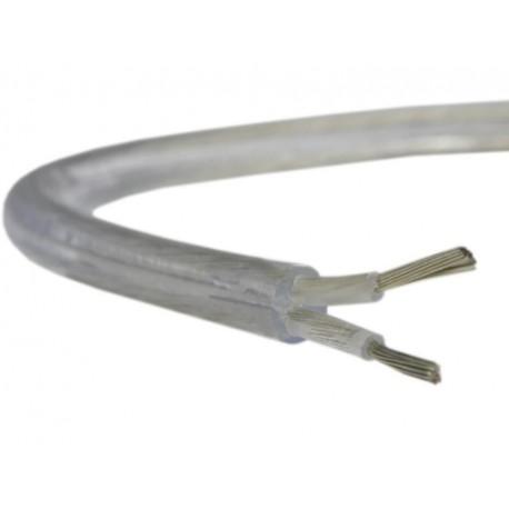 Przewód H03VV-F OMY 2x0,75mm2 transparentny do RTV/AGD, oświetleniowy, głośnikowy