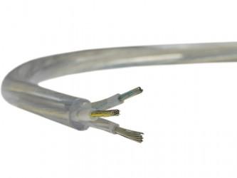 Przewód H03VV-F OMY 3x0,75mm2 transparentny do RTV/AGD, oświetleniowy, komputerowy