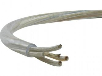 Przewód H03VV-F OMY 4x0,75mm2 transparentny do RTV/AGD, oświetleniowy, głośnikowy