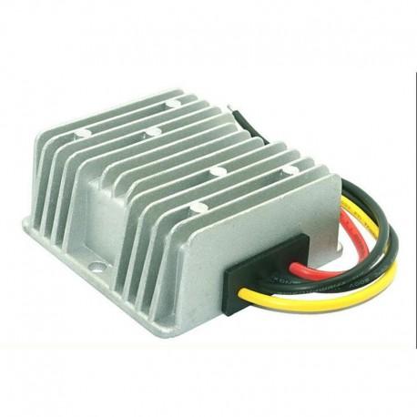 Przetwornica 24V (15...32V) do 12V 10A szczelna z radiatorem