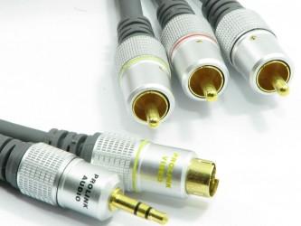 Przewód Composite+audio - S-Video+Jack TCV5510 15m