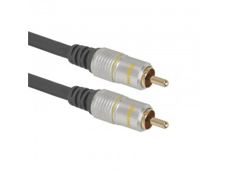 Kabel AV video CVBS audio Coax 3m Prolink TCV3010