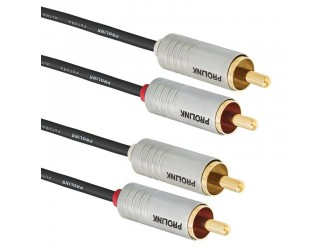 Kabel Cinch 1,5m Hi-End Prolink Futura Slim FSL201