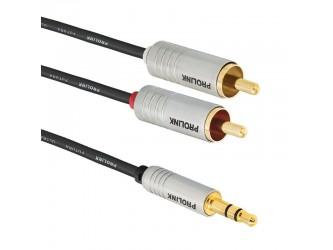 Kabel RCA miniJack 1,5m Hi-End Futura Slim FSL203