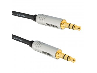 Kabel mini Jack 3m Hi-End Prolink Futura FSL205