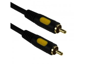 Kabel AV video CVBS audio Coax 3m Prolink CL301