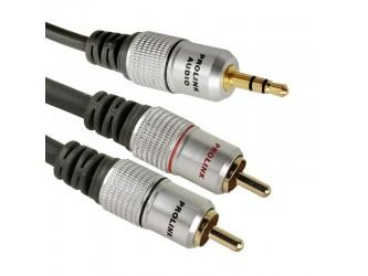Kabel Cinch-Jack3,5 Prolink Exclusive TCV3420 1,2m