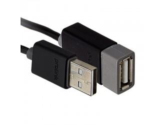 Przedłużacz USB 1m A-A USB 2.0 Prolink Black PB467