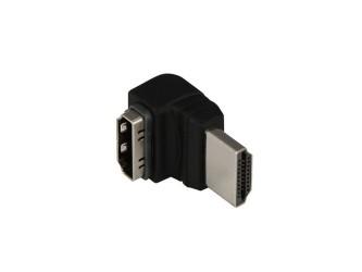 Przejście HDMI kątowe 90st. Prolink Black PB002