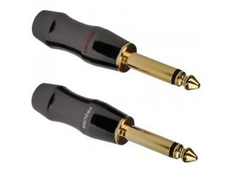 WTYK Jack 6,3 mono złocony Prolink TPJ-640B
