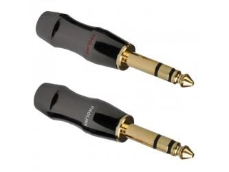 WTYK Jack 6,3 stereo złocony Prolink TPJ-645B