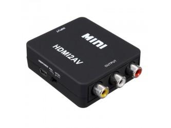 Konwerter HDMI do Composite Video CVBS czarny