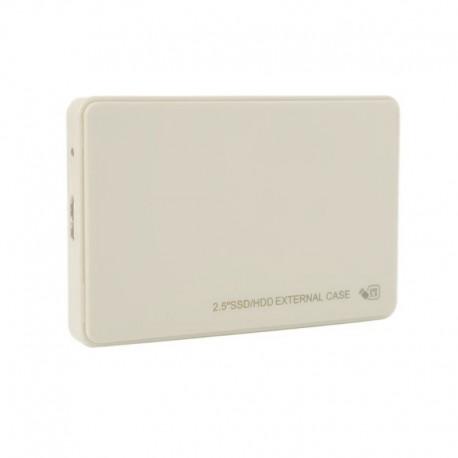 """Obudowa USB 3.0 dysku SSD 2.5"""" SATA ecru biała"""