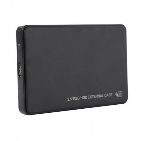"""Obudowa USB 3.0 na dysk SATA HDD SSD 2.5"""" czarna"""