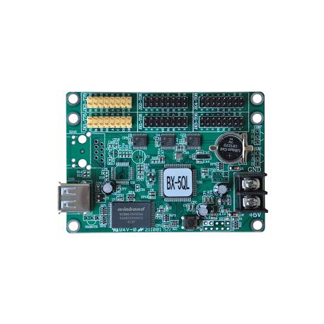 BX-5QL+E+U Ethernet, Pendrive USB do reklam LED, wyświetlaczy BUS itp.