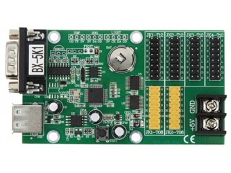 BX-5K1 RS232 COM UART sterownik dynamicznego wyświetlacza LED z pamięcią czcionek