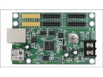 BX-5MK1 Ethernet USB audio sterownik dynamicznego wyświetlacza LED z pamięcią czcionek