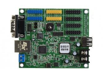 BX-6K1 RS485 COM UART sterownik pełnokolorowego dynamicznego wyświetlacza LED z pamięcią czcionek