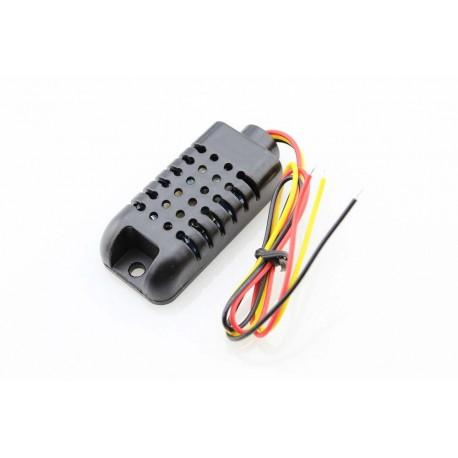 Czujnik temperatury i wilgotonści DHT21 + obudowa do wyświetlaczy LED